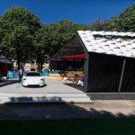 Stand Porsche aux invalides pour le E-Prix de Paris 2019