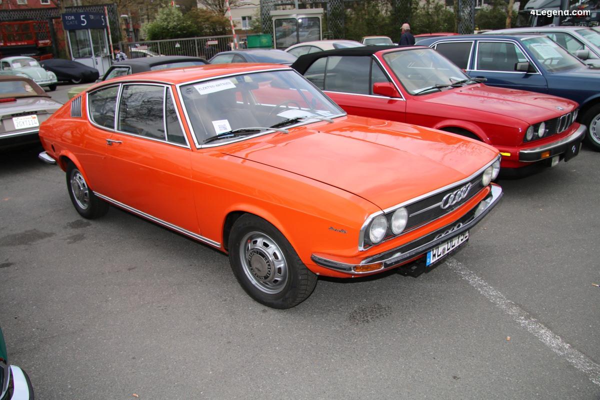 TCE 2019 - Audi 100 Coupé S électrique de 1975