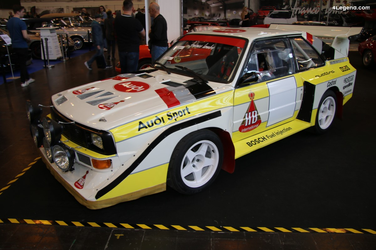 TCE 2019 - Réplique Audi S1 quattro E2 de 1985