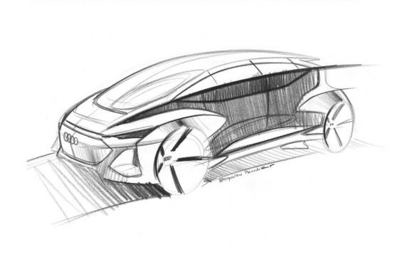 Audi AI:ME – Un concept car électrique et autonome pour le salon de Shanghai 2019
