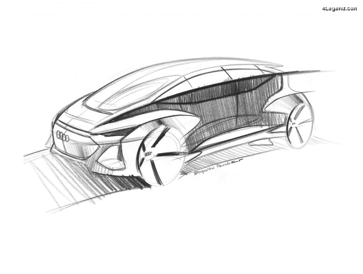 Audi AI:ME - Un concept car électrique et autonome pour le salon de Shanghai 2019