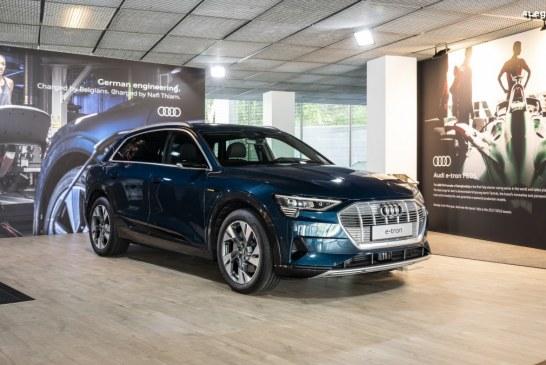 The Place To -e- : un espace temporaire dédié à la mobilité électrique d'Audi
