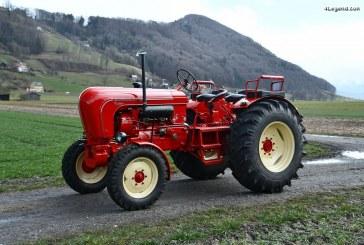 200 000 euros pour un tracteur Porsche-Diesel Master 409 de 1962