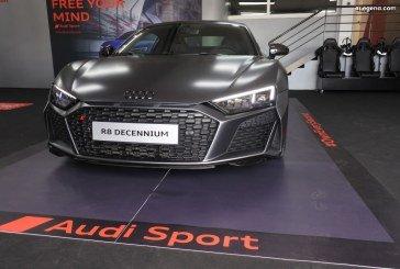 Audi R8 V10 Decennium n°22/222 française exposée au Castellet