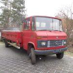 Camion spécifique de transport Porsche – Mercedes-Benz 608 D de 1982