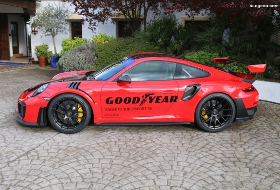 Découverte du pneu Goodyear Eagle F1 SuperSport RS sur Porsche 911 GT2 RS