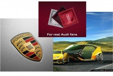 Les poissons d'Avril 2019 d'Audi, Porsche et Lamborghini