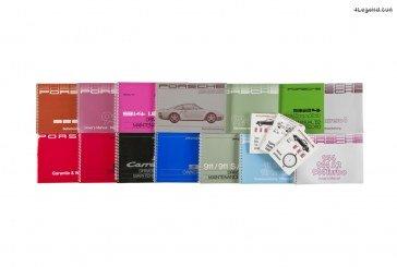 Réimpressions des manuels d'utilisation & d'entretien Porsche d'origine