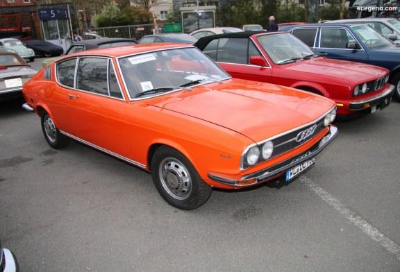TCE 2019 – Audi 100 Coupé S électrique de 1975