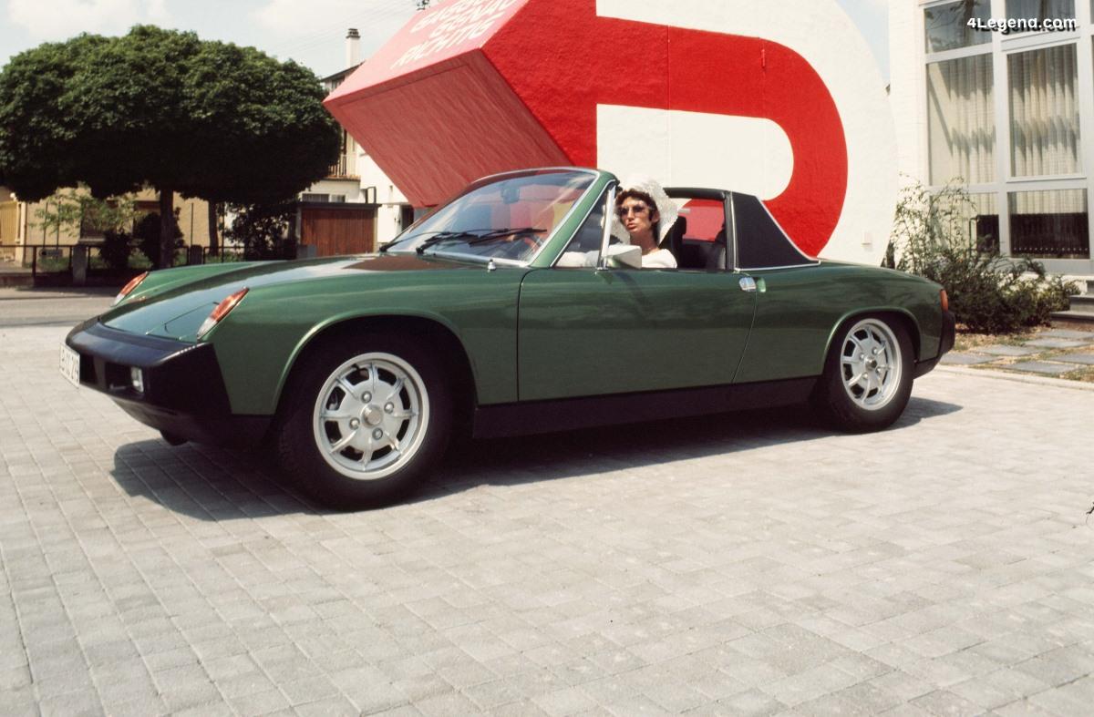 50 ans de la Porsche 914 - Retour sur son histoire