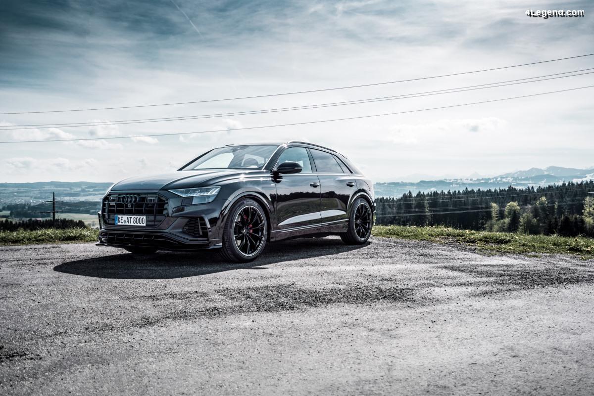 ABT Level Control - Abaissement électronique de l'Audi Q8