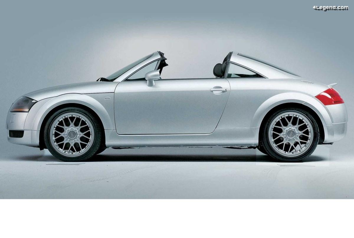Audi TT Open Sky Concept de 2001 - Une symbiose parfaite entre un roadster et un coupé