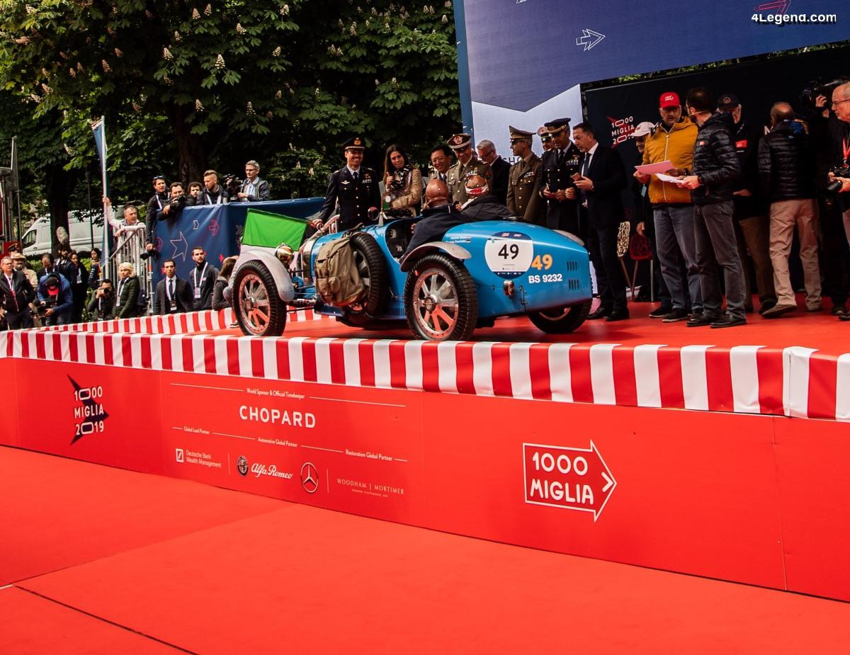 Bugatti au Mille Miglia 2019 - Jour 1