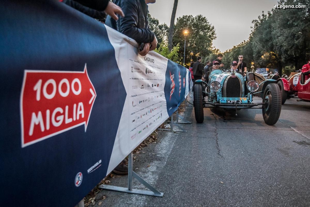Bugatti au Mille Miglia - Jour 2