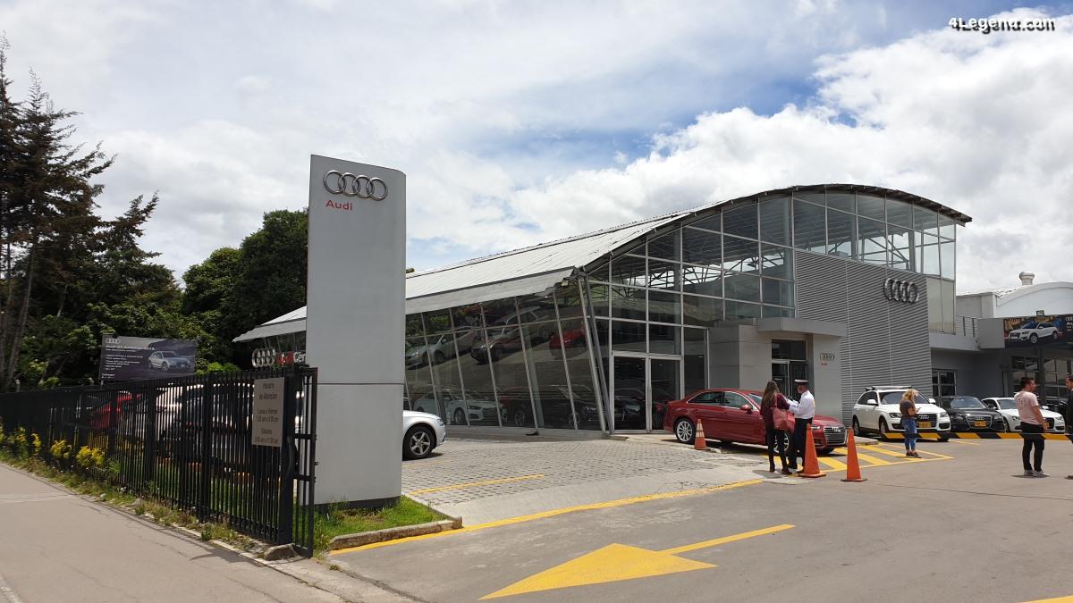 Concession Audi Colwagen à Bogotá en Colombie