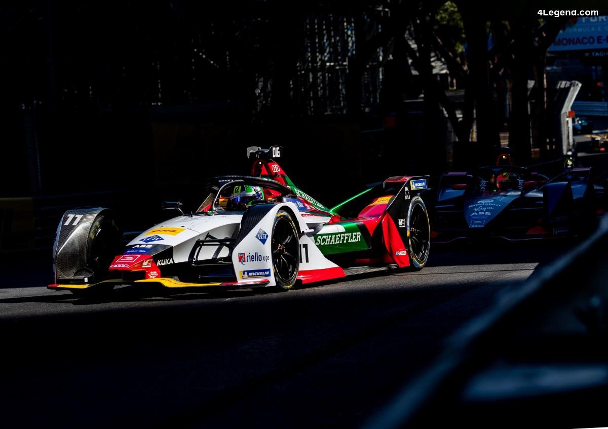 Formule E - Course décevante pour Audi à Monaco