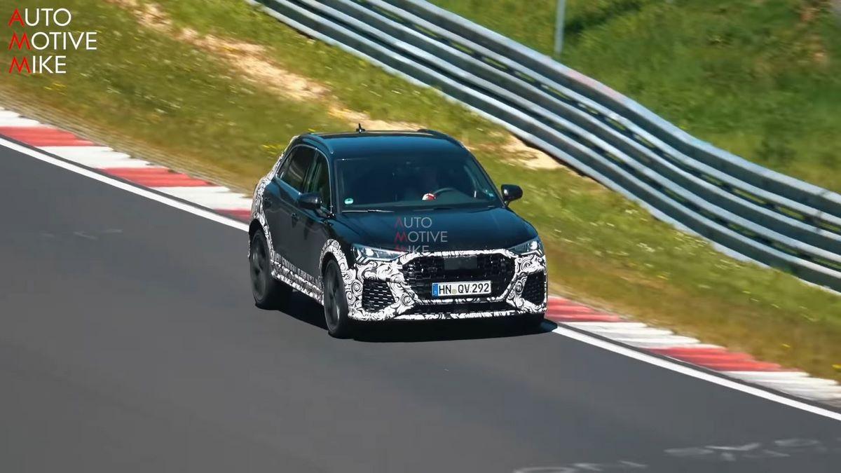 Spyshots Audi RS Q3 au Nürburgring - Un son démoniaque