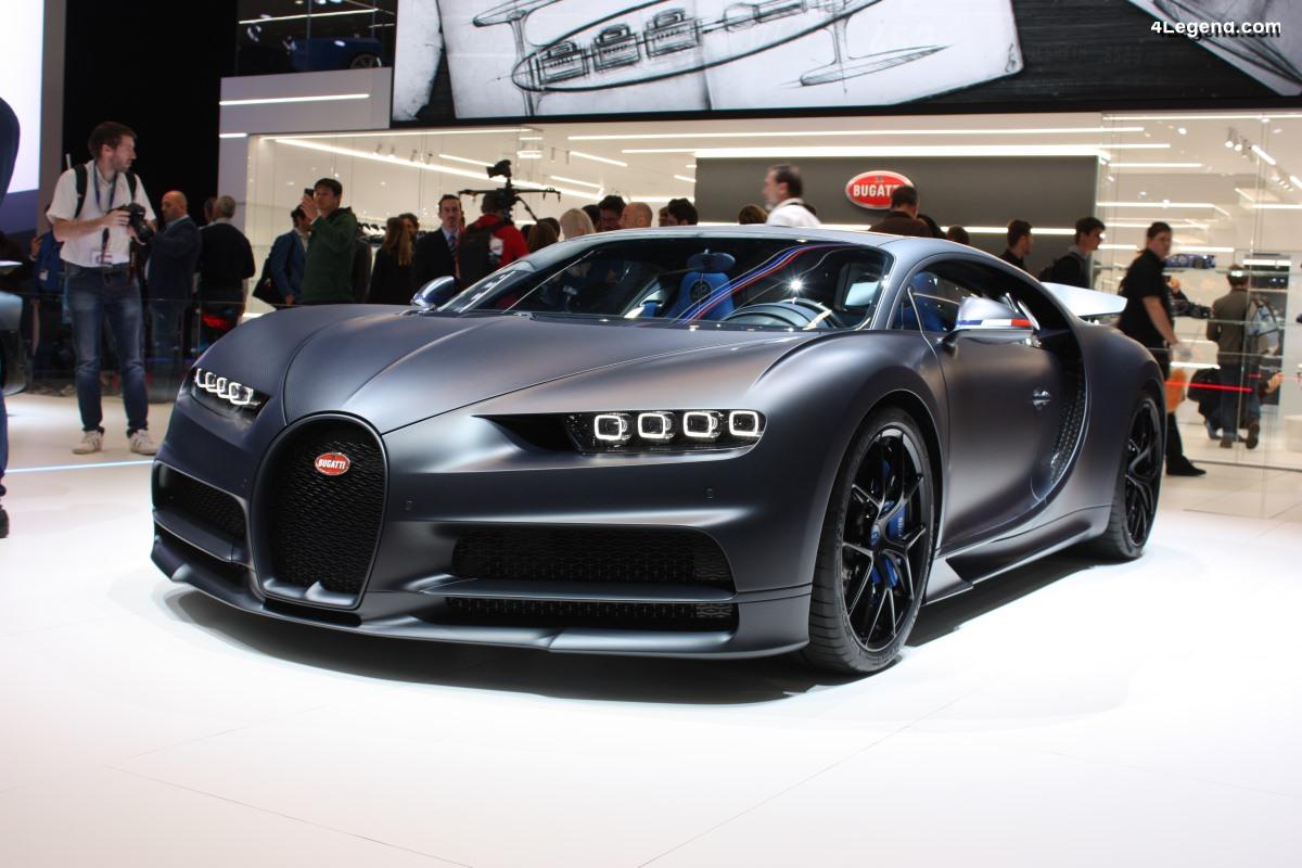 Près de 400 Bugatti Chiron vendues en seulement 3 ans