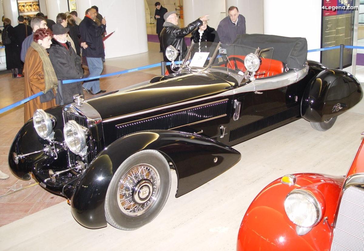 Horch 710 Spezial Roadster Reinbolt & Christie de 1934 - Ex collection Rolf Meyer