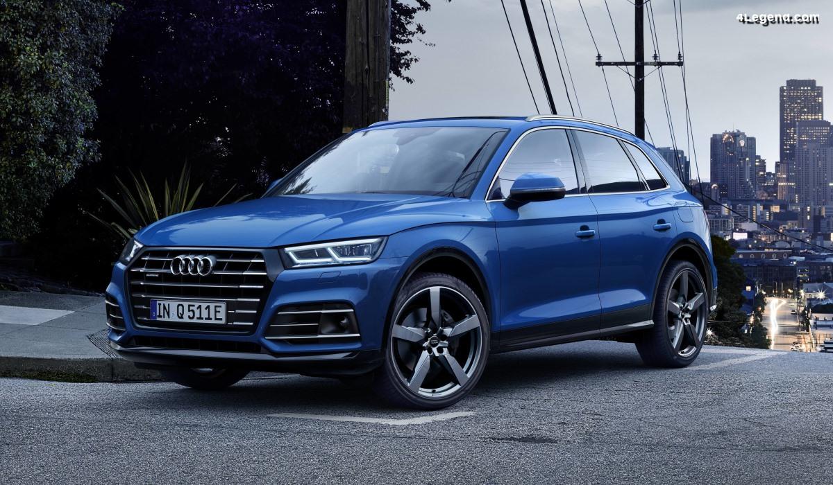 Audi Q5 55 TFSI e quattro : une hybride rechargeable sportive et efficiente