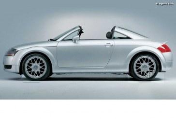 Audi TT Open Sky Concept de 2001 – Une symbiose parfaite entre un roadster et un coupé
