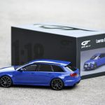 Miniature Audi RS 6 Performance Nogaro Edition de GT Spirit au 1:18
