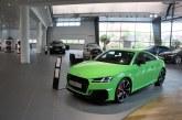 Audi TT RS Kyalami Green Audi Forum Neckarsulm