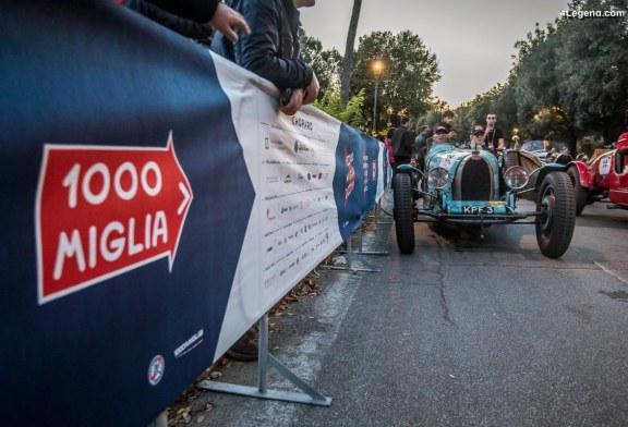 Bugatti au Mille Miglia – Jour 2