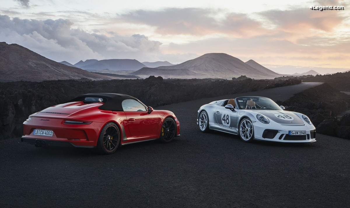 Détails de la Porsche 911 Speedster 2019 : à partir de 273 095 euros