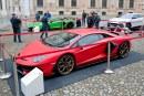 L'innovation Lamborghini lors de la Motor Valley Fest 2019 à Modène