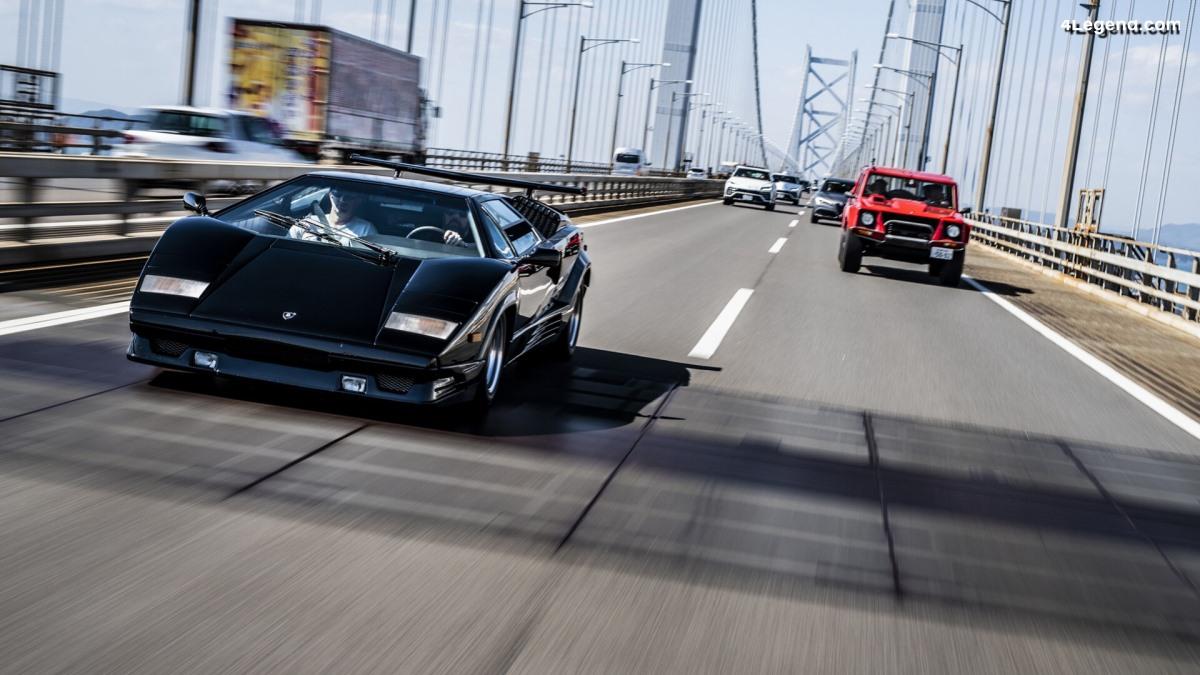 Road trip Lamborghini au Tour d'Elegance 2019 au Japon