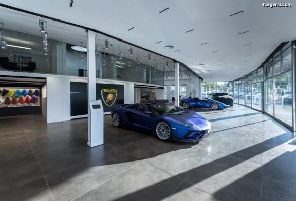 Ouverture de Lamborghini Zürich