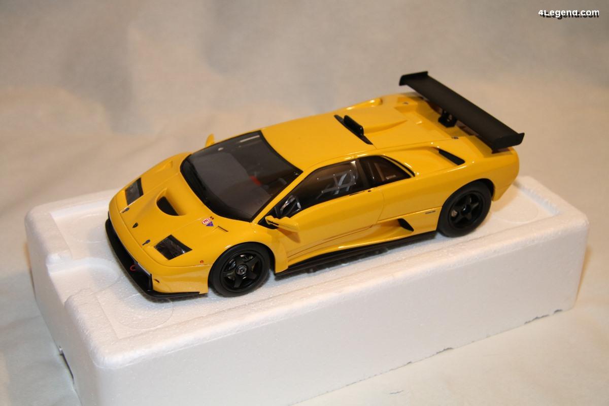 Lamborghini Diablo GTR au 1:18 par Kyosho - GT Spirit
