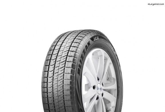 Nouveau pneu hiver Bridgestone Blizzak ICE – Performances supérieures