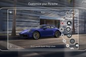 Une nouvelle application pour configurer une Porsche en 3D