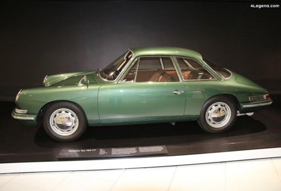 Porsche Type 754 T7 de 1959 – L'un des prototypes de la 911