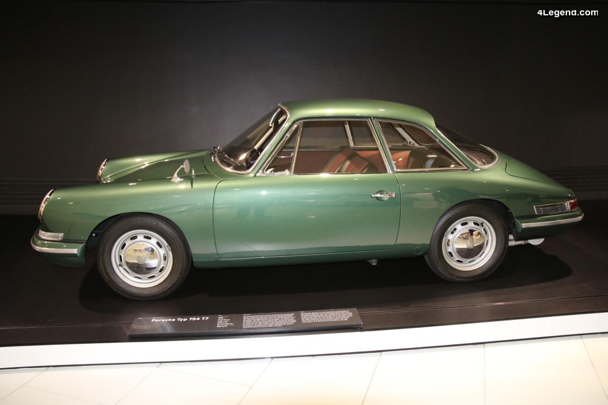 Porsche Type 754 T7 de 1959 - L'un des prototypes de la 911