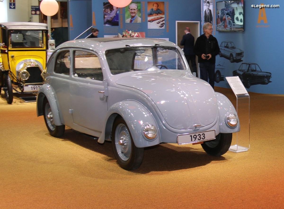 Porsche Type 32 de 1933 et 1934 - Trois prototypes réalisés pour NSU