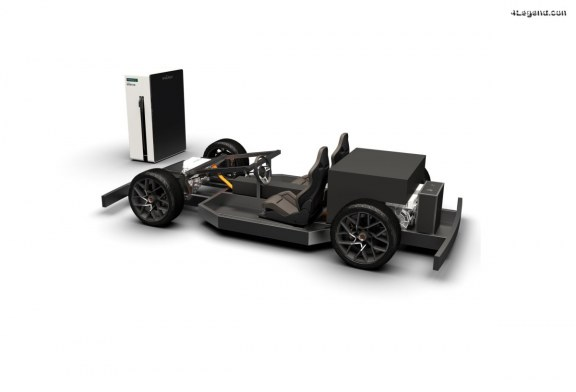 Recharge record en 4:40 minutes pour la voiture de sport électrique Piëch Mark Zero
