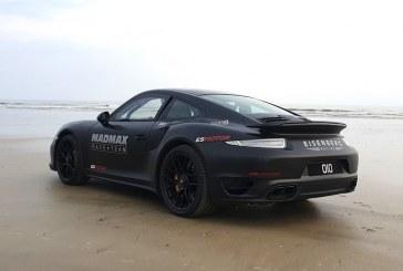 Un record du monde de vitesse sur sable pour une Porsche 911 Turbo S de 1 200 ch