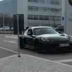 Spyshots Porsche 718 Cayman GT4 et 718 Boxster Spyder