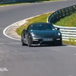 Spyshots Porsche 718 Boxster Spyder sur le Nürburgring