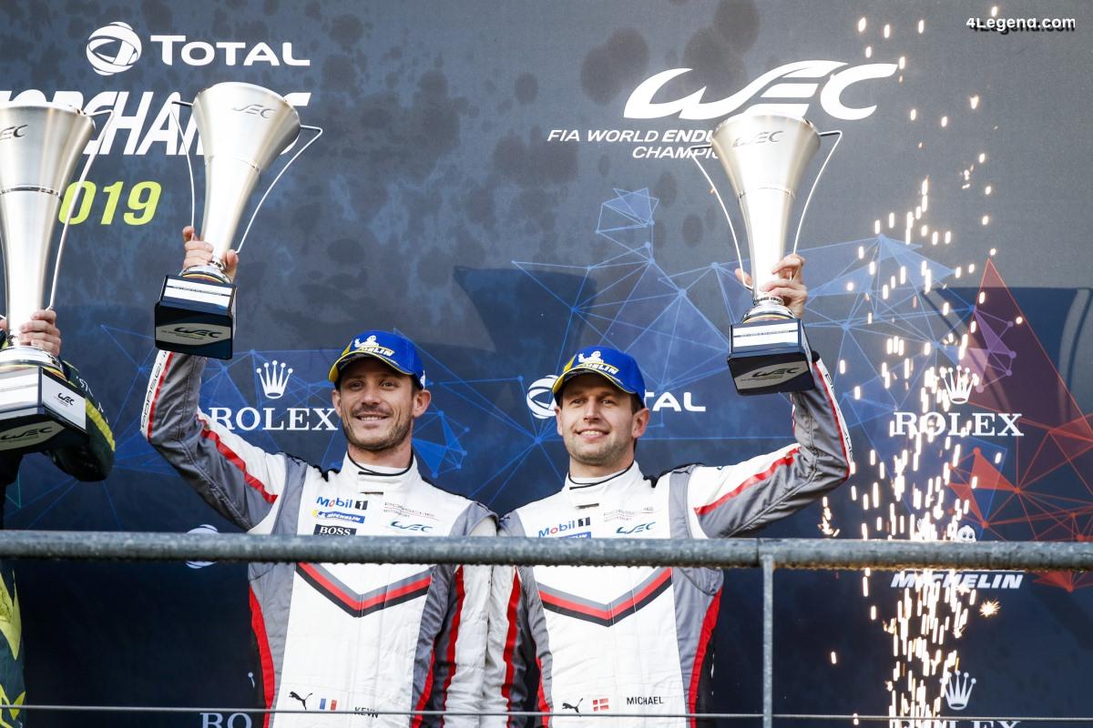 WEC - Podium pour Porsche à Spa qui devient champion du monde