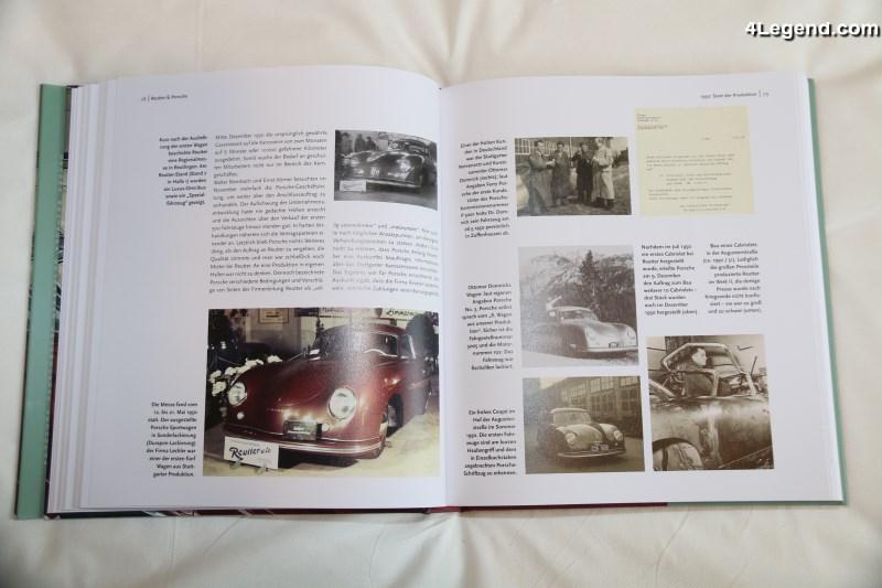 Livre Porsche 356 Made By Reutter Delius Klasing