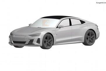 L'Audi e-tron GT se dévoile via des croquis de dépôt de brevets