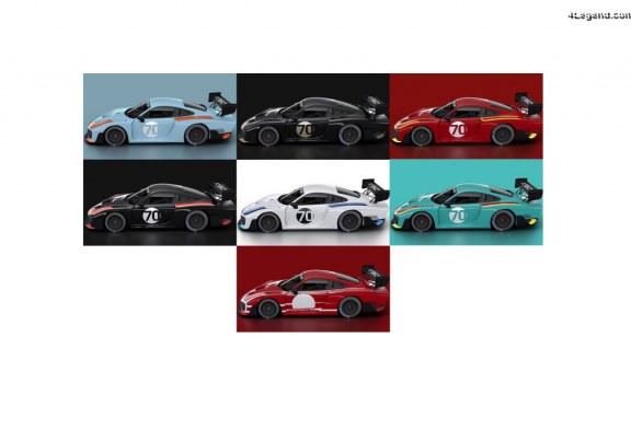 Décorations personnalisées pour la nouvelle Porsche 935