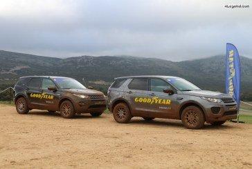 Essai du pneu Goodyear Wrangler All-Terrain Adventure sur Range Rover Evoque