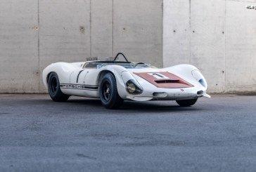 Le Porsche Museum préserve la 910/8 Bergspyder dans les règles de l'art