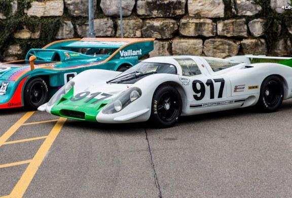 Restauration à l'origine de la Porsche 917 châssis 001