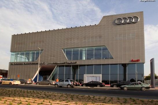Le plus grand terminal Audi à Dubaï